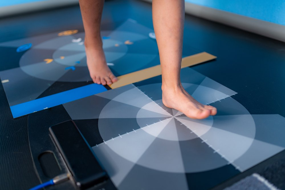 Baropodometry, gait analysis using a foot plate in anthropometry