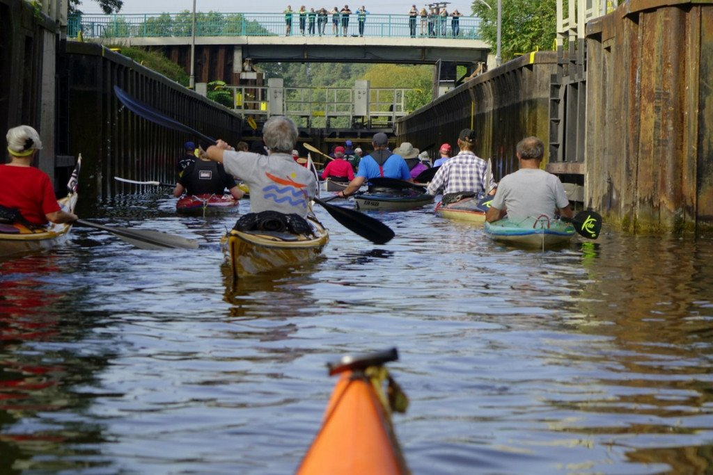 canal locks can often get flooded