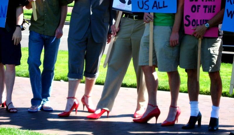 Men in heels