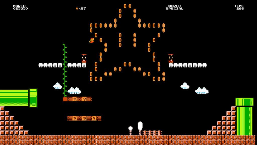 mario 8 bit game