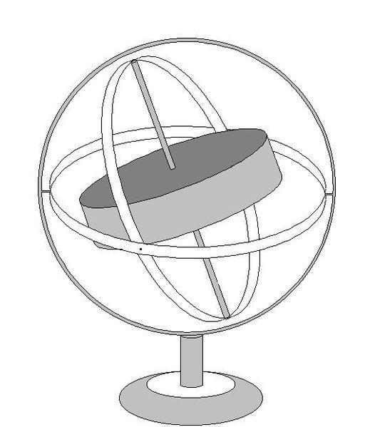 Gyroscope drawing