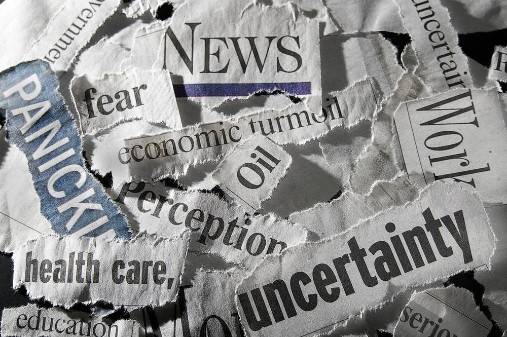 Various,Newspaper,Headlines,Showing,Economic,Concepts