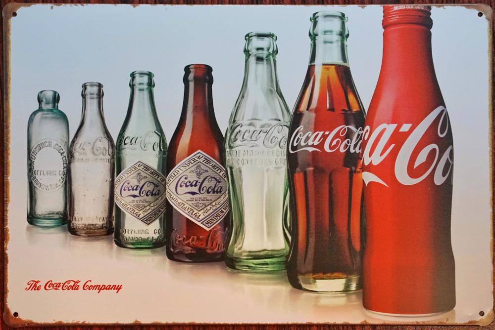 April,2018,:,Coca-cola,Zinc,Plate,Very,Vintage,At,Bangkok,thailand
