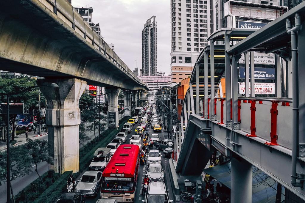 bangkok vehicals, Traffic