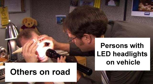 headlight meme