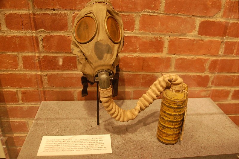 Gas Mask used by the chemical engineering students